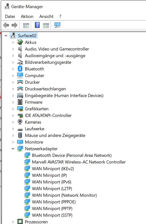 """Wählen Sie """"Gerätemanager"""""""